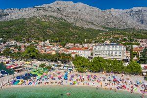 Hrvatska, Baška Voda, Grand Hotel Slavia