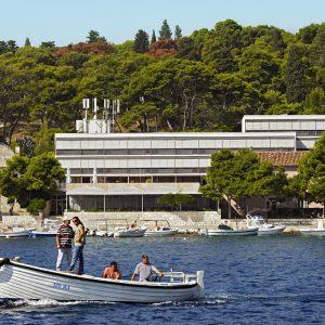 Hrvatska, otok Hvar, Grad Hvar, Hotel Delfin