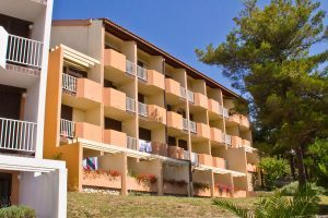 Hrvatska, otok Rab, Lopar, Veli Mel Sunny Hotel