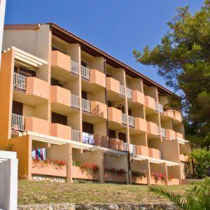 Hrvatska, otok Rab, Lopar, Hotel Veli Mel
