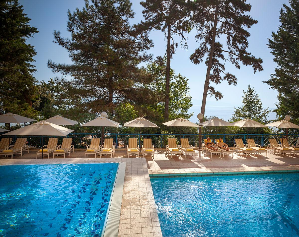 Hrvatska, Lovran, Hotel Excelsior