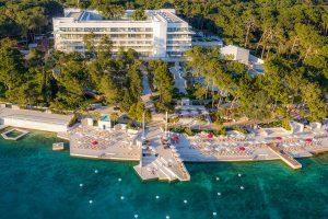Hrvatska, otok Lošinj, Mali Lošinj, Hotel Bellevue