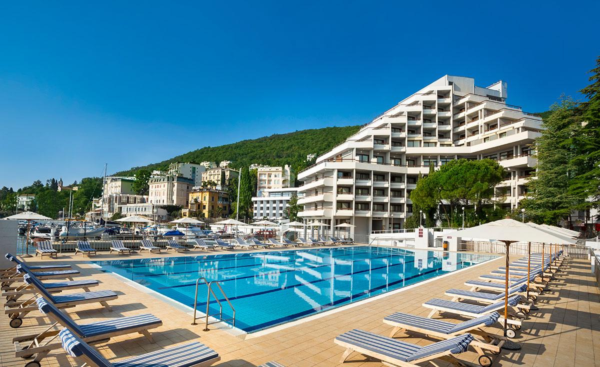 Hrvatska, Opatija, Hotel Admiral