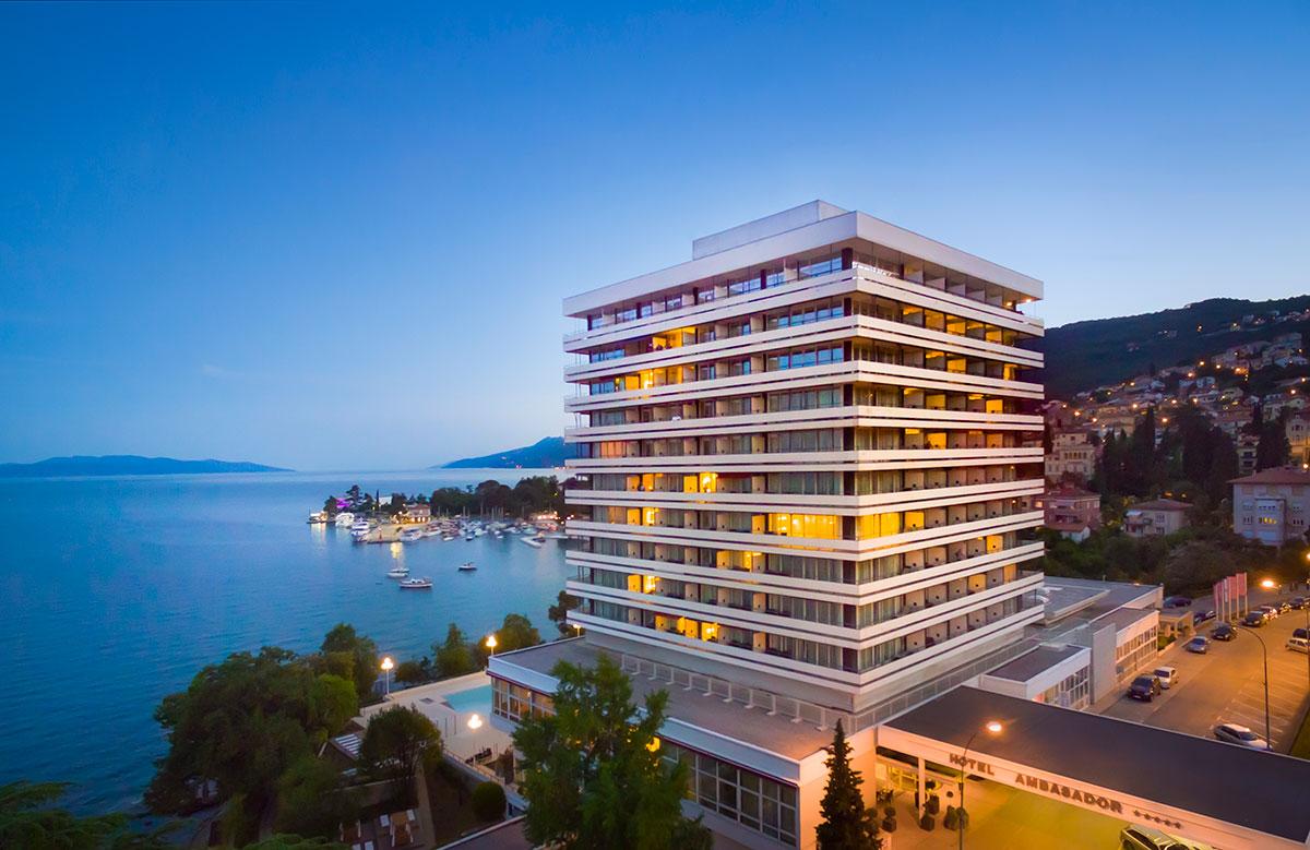 Hrvatska, Opatija, Hotel Ambasador