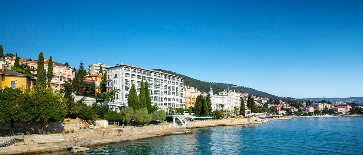 Hrvatska, Opatija, Hotel Kristal