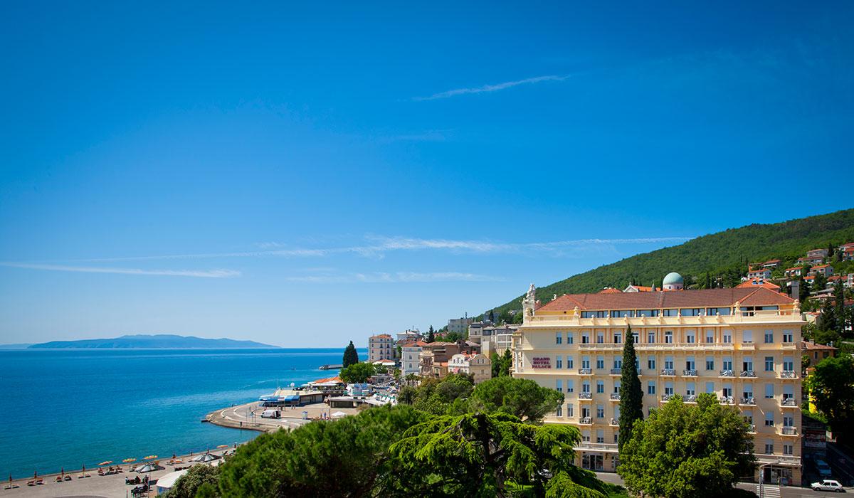 Hrvatska, Opatija, Hotel Palace Bellevue