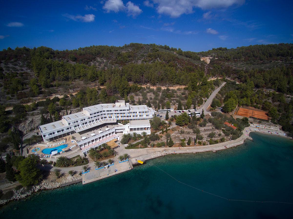 Hrvatska, Otok Korčula, Vela Luka, Hotel Adria