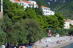 Hrvatska, otok Vis, Komiža, Hotel Biševo