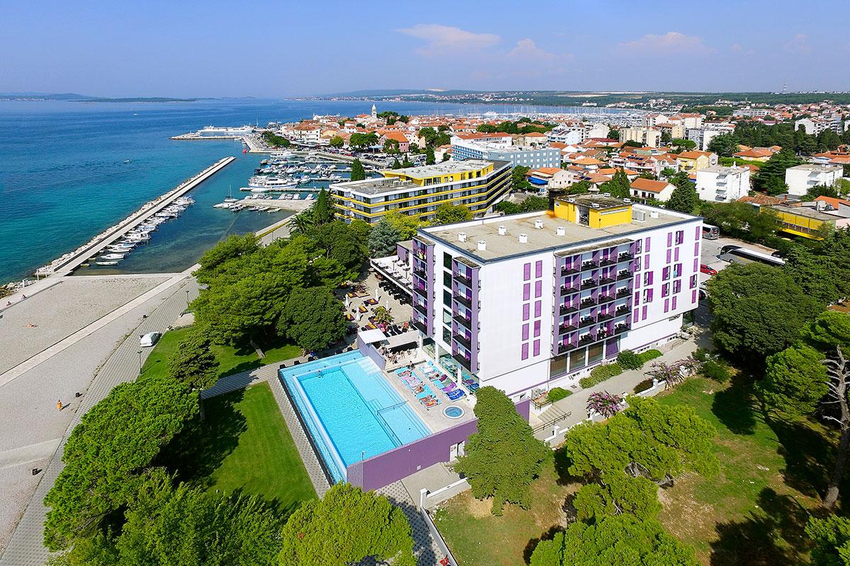 Hrvatska, Biograd, Hotel Adriatic