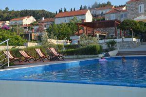 Hrvatska, Otok Korčula, Lumbarda, Hotel i Depandansa Borik