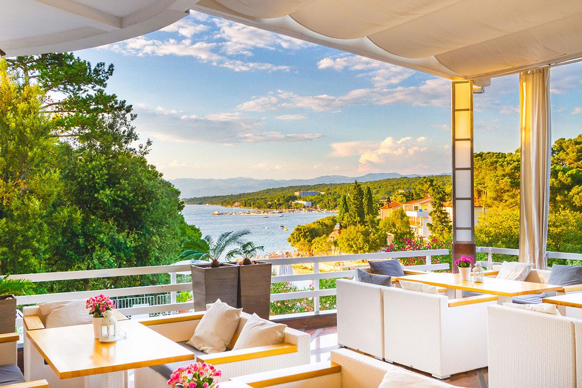 Hrvatska, otok Krk, Malinska, Hotel Malin