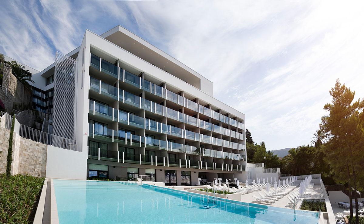 Hrvatska, Dubrovnik, Hotel Kompas