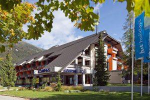 Slovenija, Kranjska Gora, Hotel Kompas
