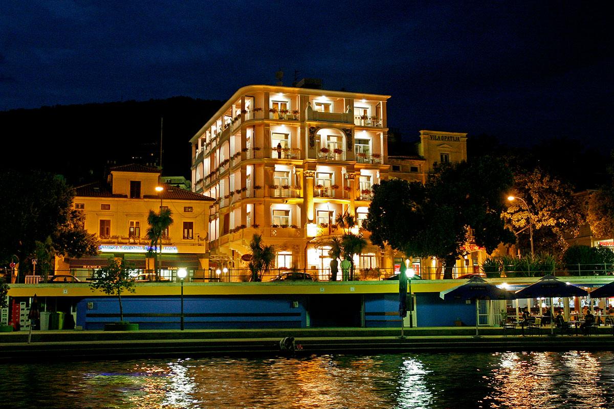 Hrvatska, Opatija, Hotel Mozart