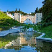 Slovenija, Rimske terme, Hotel Zdraviliški dvor