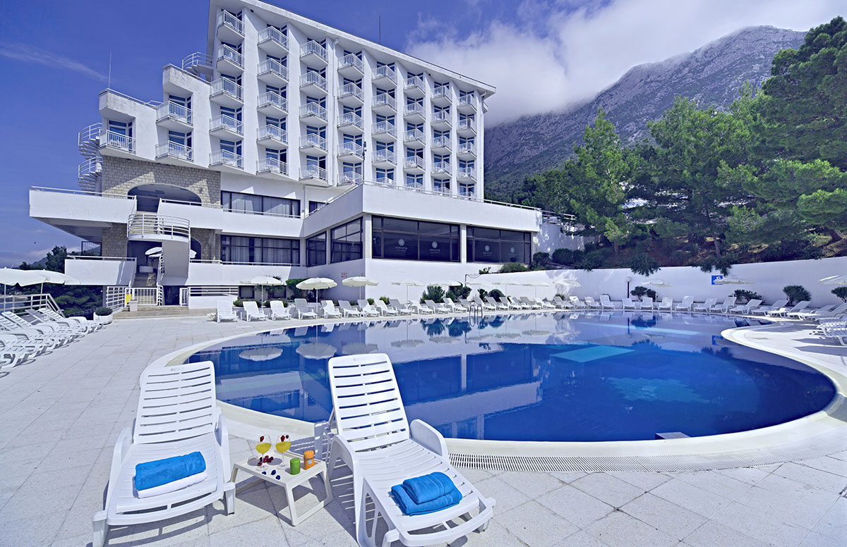 Hrvatska, Gradac, Hotel Labineca