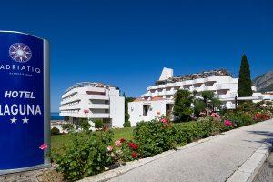 Hrvatska, Gradac, Hotel Laguna