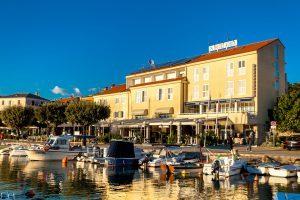 Hrvatska, otok Krk, Malinska, Hotel Adria