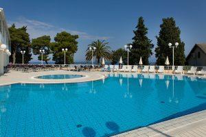 Hrvatska, Poluotok Pelješac, Trpanj, Hotel Faraon