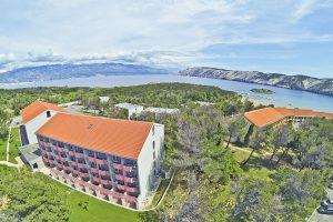 Hrvatska, otok Rab, Lopar, Lopar Sunny Hotel