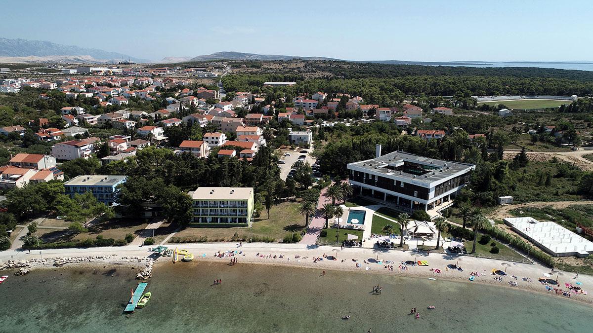 Hrvatska, Otok Pag, Novalja, Liberty hotel