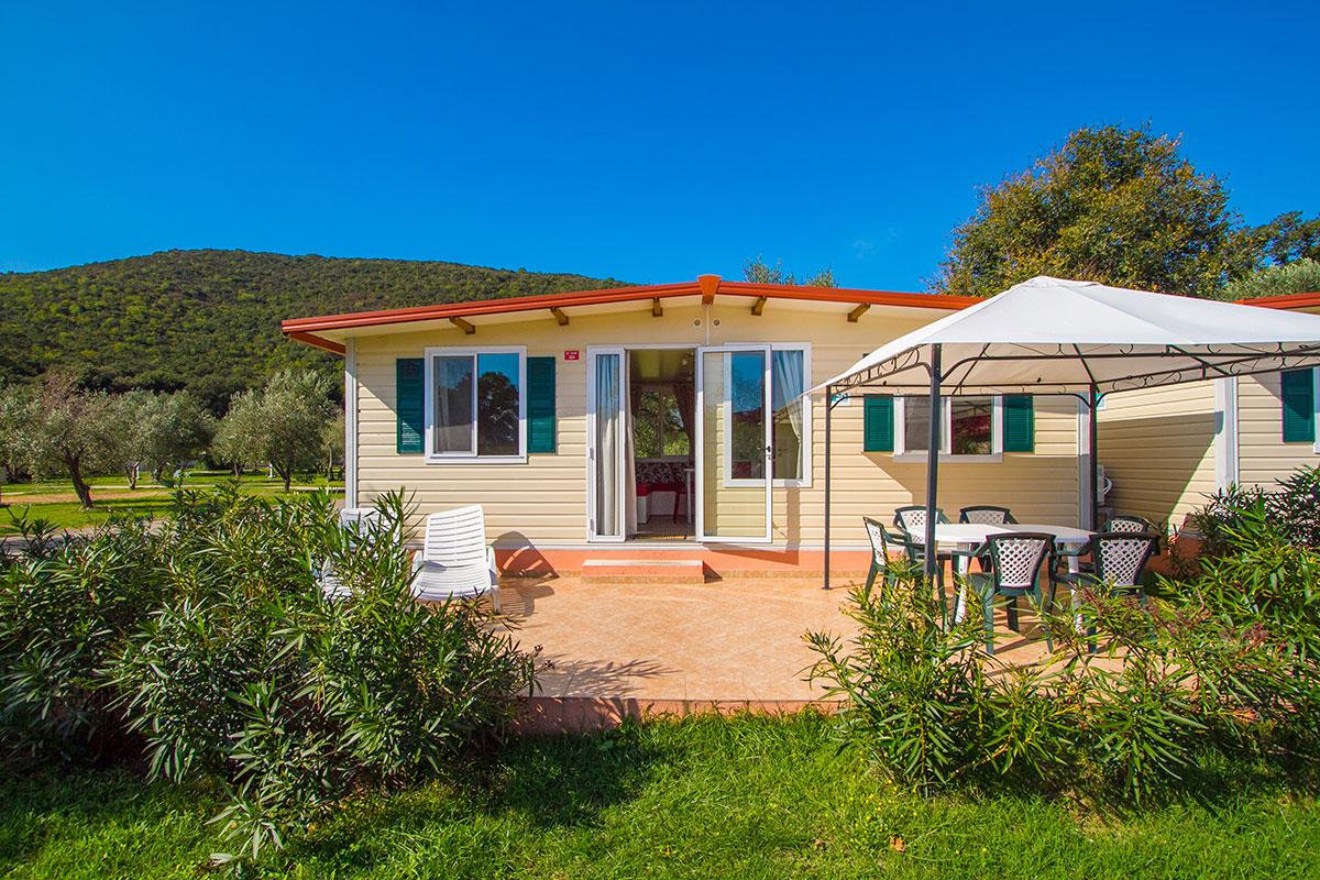 Hrvatska, Rabac, Mobilne kućice Oliva