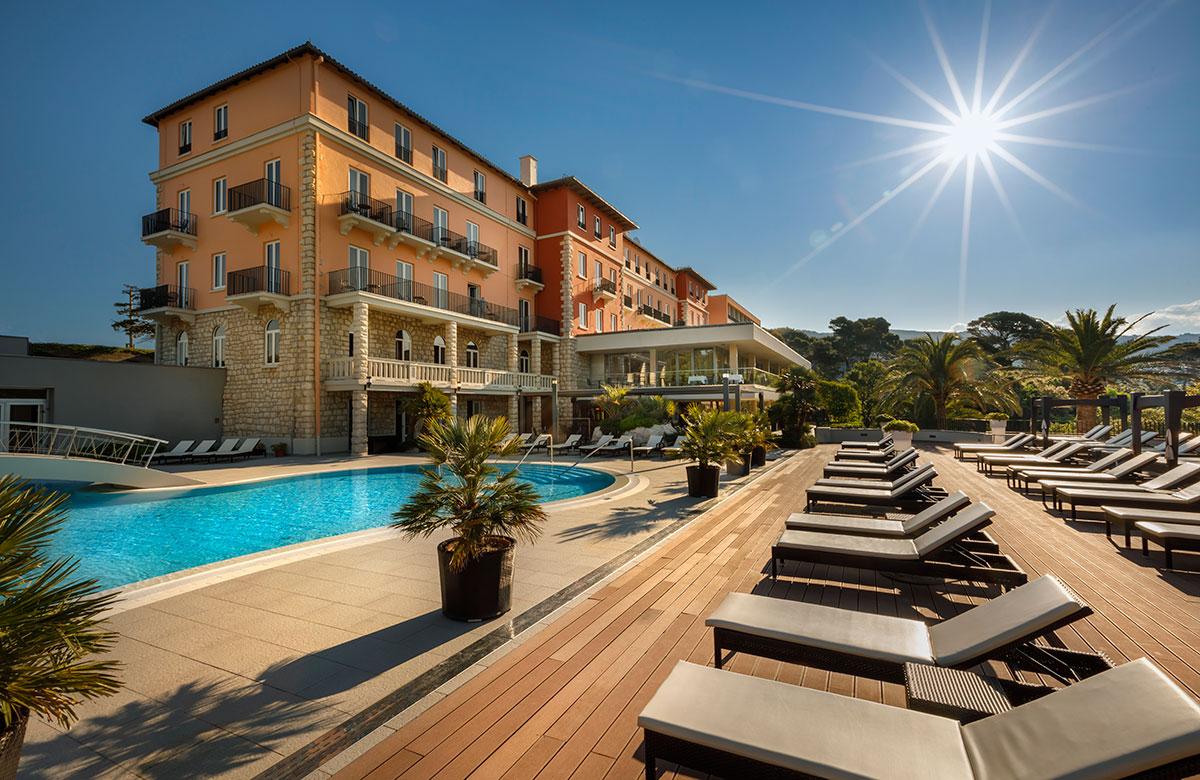 Hrvatska, otok Rab, grad Rab, Valamar Collection Imperial Hotel