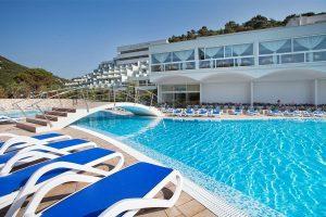 Hrvatska, Rabac, Hotel Narcis
