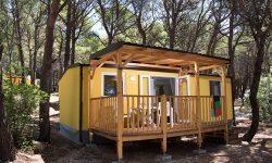 Hrvatska, Baško Polje, Mobilne kućice Adriatic kampovi Baško Polje
