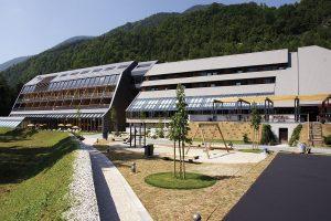 Slovenija, Gozd Martuljek, Kranjska Gora, Hotel Špik