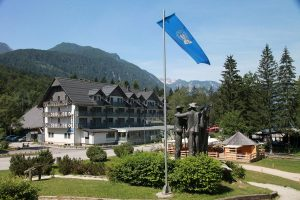 Slovenija, Bohinj, Hotel Jezero
