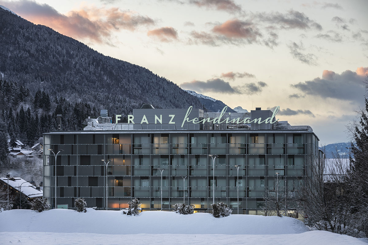 Austrija, Tröpolach, Nassfeld, Franz ferdinand Mountain Resort Nassfeld