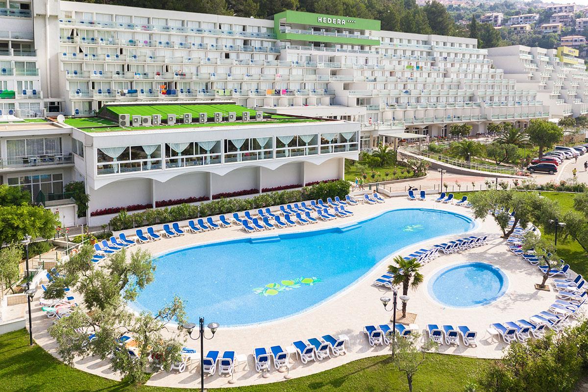 Hrvatska, Rabac, Hotel Hedera