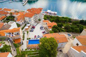 Hrvatska, otok Rab, grad Rab, Luxury Boutique Hotel Arbiana