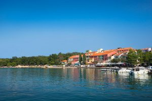 Hrvatska, otok Krk, Njivice, Hotel Jadran