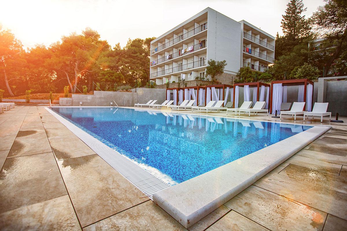 Hrvatska, otok Hvar, Vrboska, Turističko naselje Senses Resort