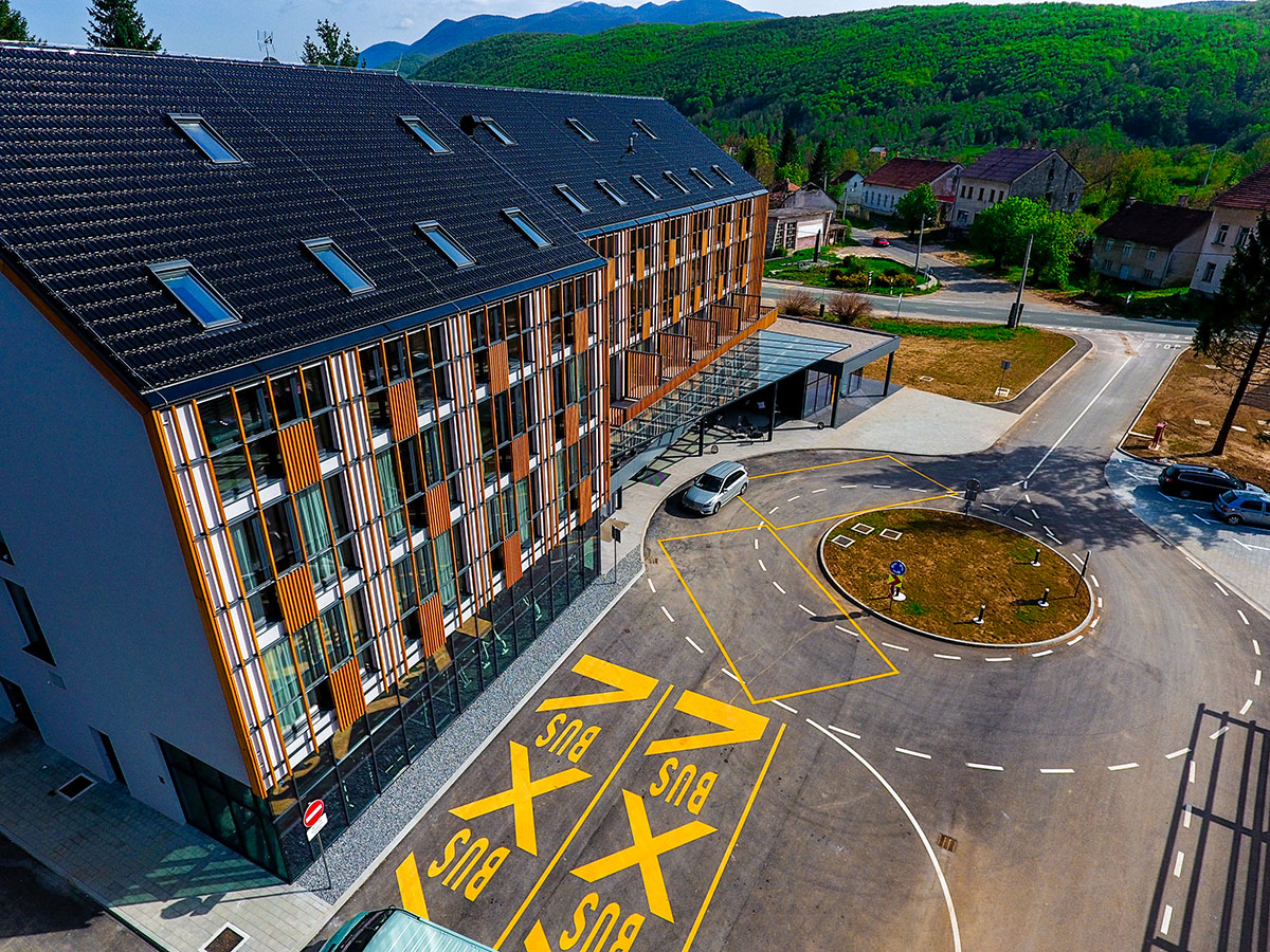 Hrvatska, NP Plitvička jezera, Hotel Lyra