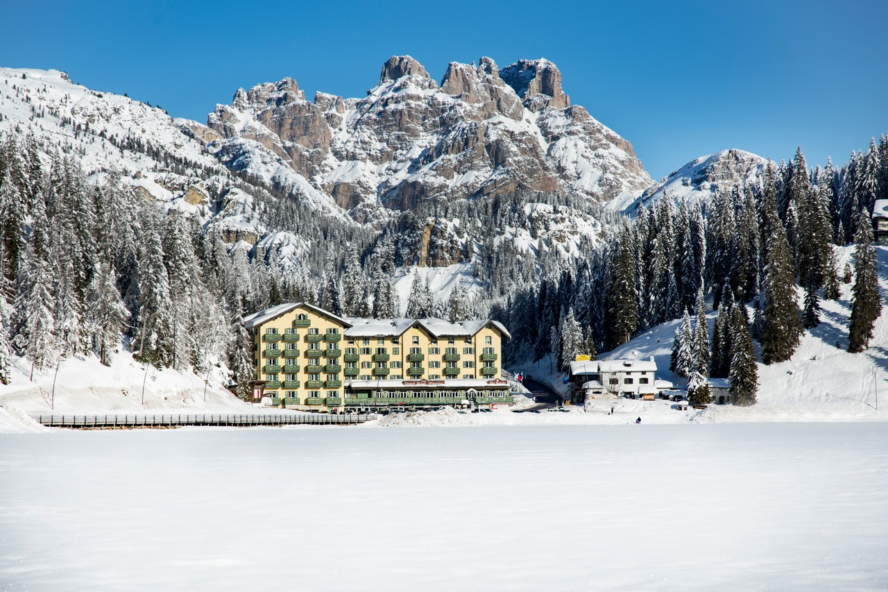 Italija, Cortina d'Ampezzo, Grand hotel Misurina