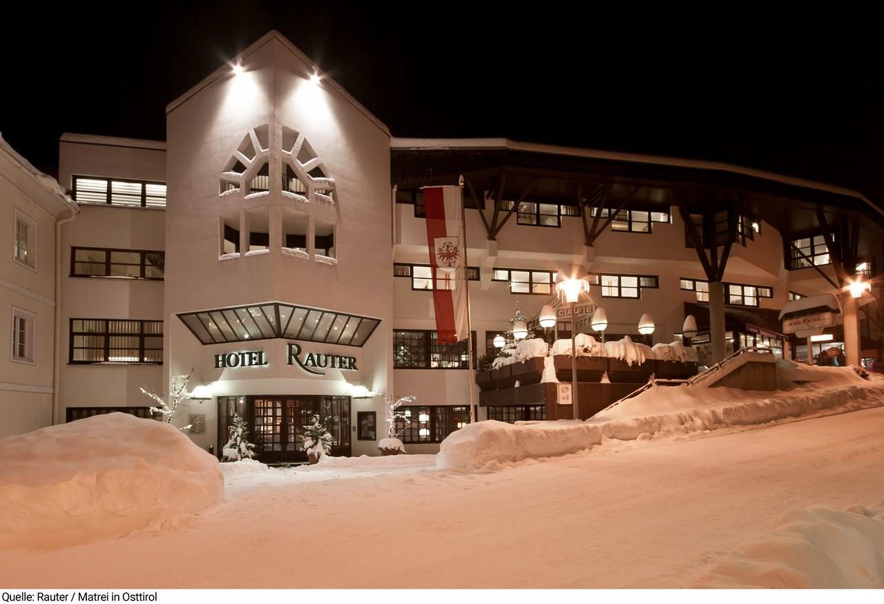 Austrija, Matrei, Hotel Rauter