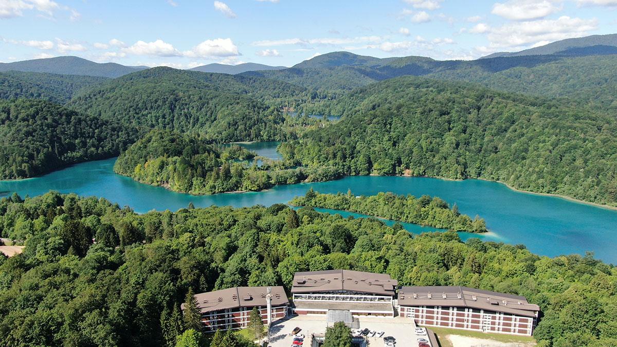 Hrvatska, NP Plitvička jezera, Hotel Jezero
