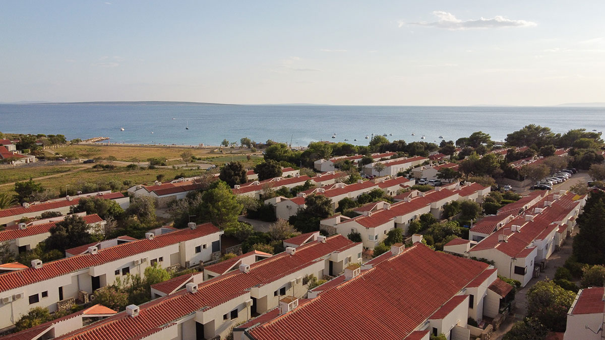 Hrvatska, Otok Pag, Gajac, Apartmani Hostin