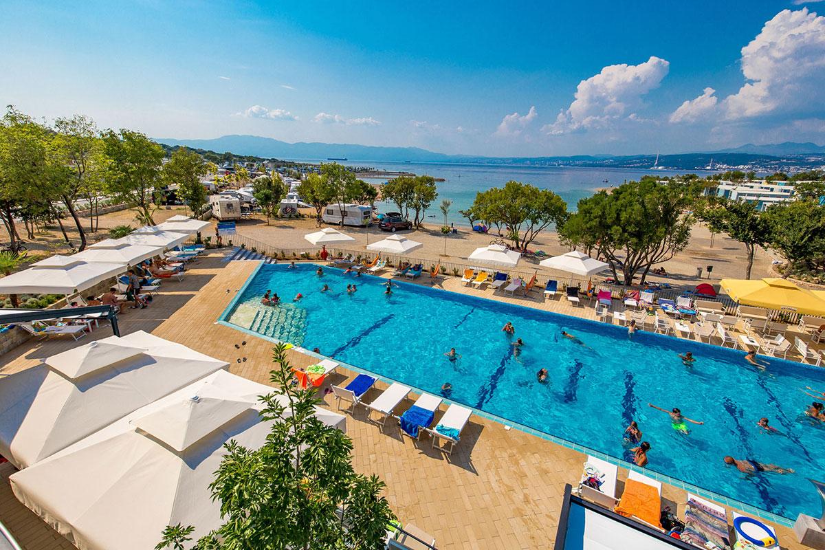 Hrvatska, otok Krk, Omišalj, Mobilne kućice Omišalj