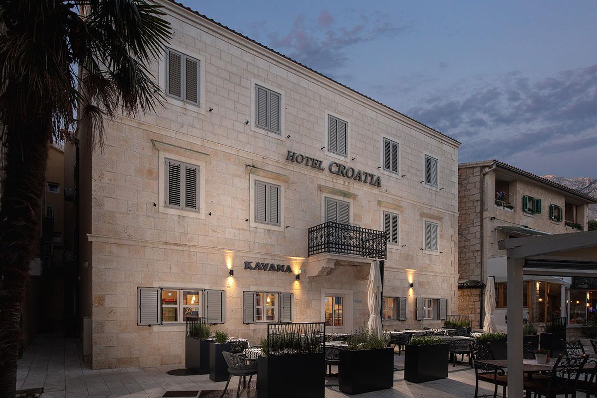 Hrvatska, Baška Voda, Hotel Croatia
