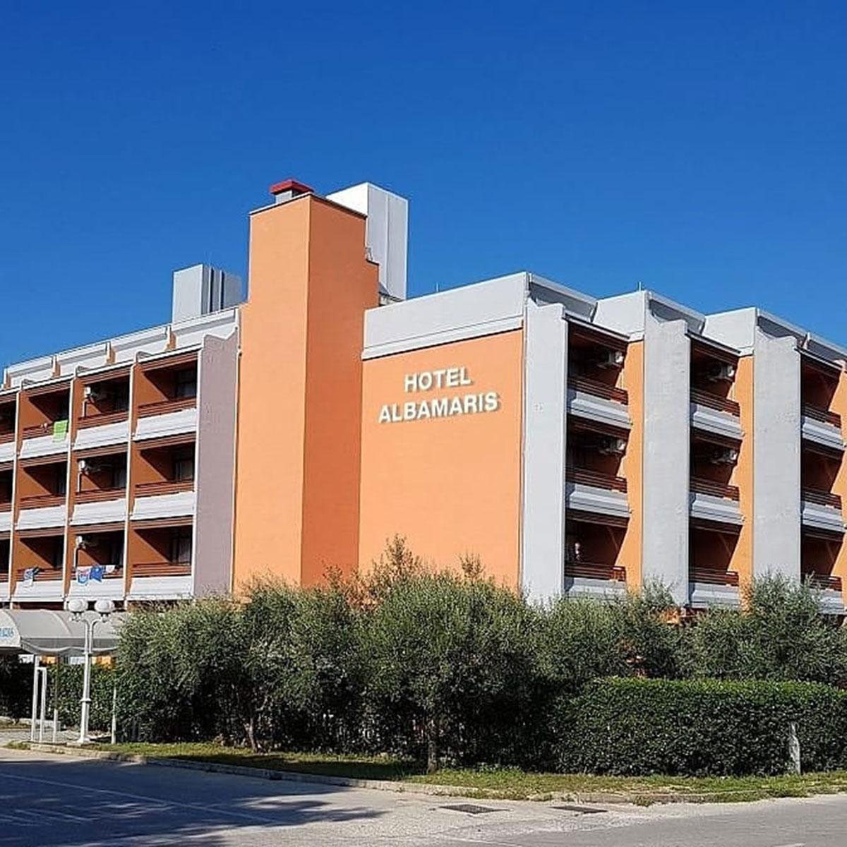 Hrvatska, Biograd, Hotel Albamaris
