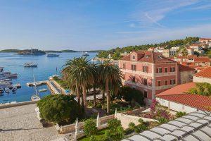 Hrvatska, otok Hvar, Grad Hvar, Palace Elisabeth - Hvar Heritage Hotel
