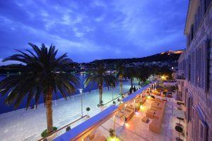Hrvatska, otok Hvar, Grad Hvar, Riva Hvar Yacht Harbour Hotel