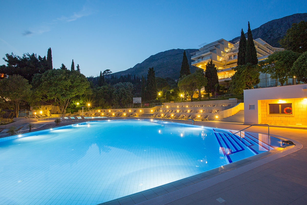 Hrvatska, Mlini, Hotel Astarea I & II