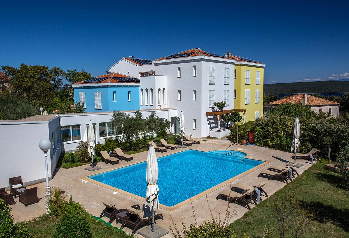 Hrvatska, otok Lošinj, Nerezine, Hotel Manora
