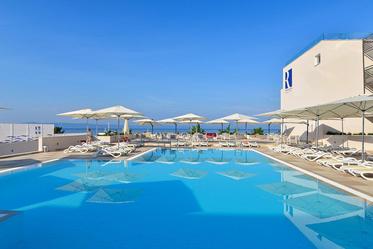 Hrvatska, Makarska, Romana Beach Apartments