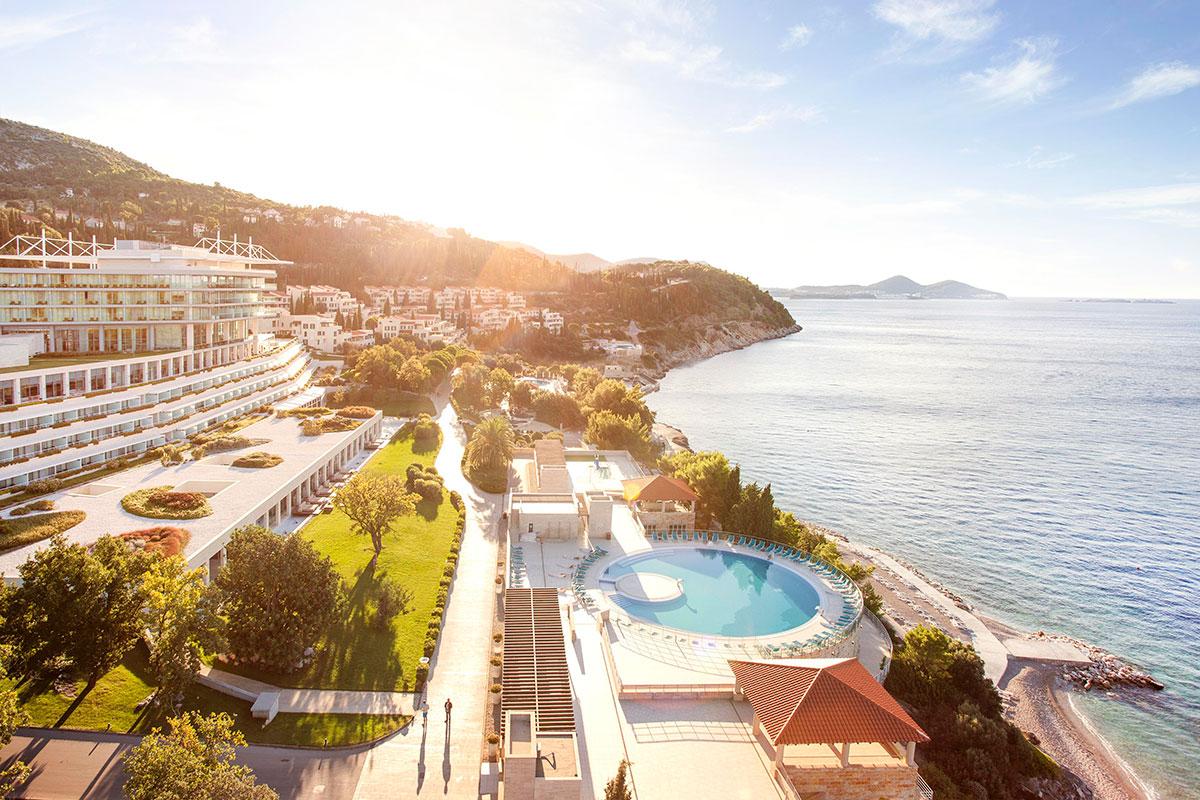 Hrvatska, Orašac (Dubrovnik), Resort Dubrovački Vrtovi Sunca (Sun Gardens Dubrovnik)